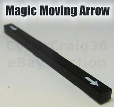 MAGIC MOVING ARROW PADDLE TRICK HOT ROD CLOSE UP POCKET JUMPING POINTS STICK NEW