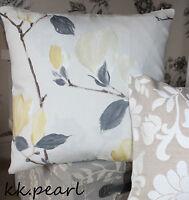 John Lewis SAYURI Magnolia Fabric&Floral  Cushion Pillow Cover Countryside Style