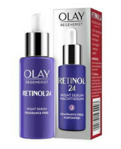 2 x Olay Retinol24 Night Serum With Retinol & Vitamin B3 2x 40ml, NEW & GENUINE