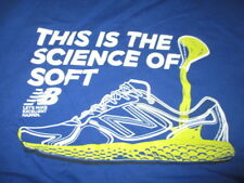 "New Balance ""This is the Science of Soft"" (LG) T-Shirt BOSTON MARATHON"