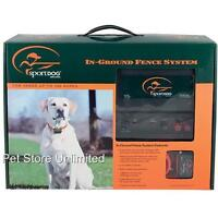 SportDOG In Ground Dog Fence SDF-100A with 1000' 20G Wire SDF-R Receiver Collar