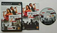 SingStar Rocks!  PlayStation 2 PS2 Complete Game Works Tested -Very Good