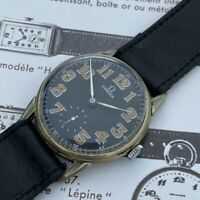 1929 Omega Military Watch - Sensational Dial - Great Watch