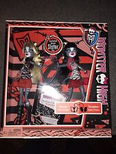 NEW MONSTER HIGH WERECAT SISTER PACK MEOWLODY & PURRSEPHONE DOLLS SHIP EVERYDAY
