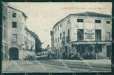 Vicenza Camisano Vicentino cartolina QT2637