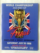 1966 WORLD CUP FINAL ENGLAND V WEST GERMANY(reproduction)
