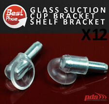 Glass holder Suction Cup Pin Bracket Pin Pegs Shelf Bracket with Rubber Suction