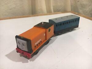 Motorized Rusty w/ Blue Narrow Gauge Coach T4644 Thomas & Friends Trackmaster