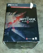 (Read) Witcher 3 III: Wild Hunt Collector's Edition *Brand New* (PC, 2015)