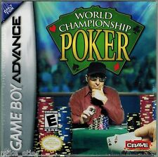 World Championship Poker (Nintendo Game Boy Advance, 2004) Factory Sealed