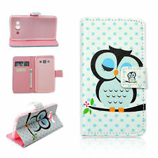 Leather Slots Wallet Protective Cover Phone Case For Samsung Galaxy A3 2015