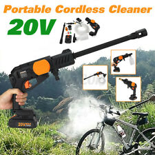 20V Portable Cordless High Pressure Clean Washer Hose Cleaner Lance Gun