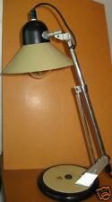 lampe de bureau articulée, design industriel, vintage