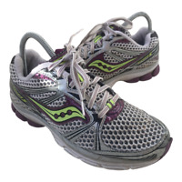Saucony Guide 5 Womens Size 7.5 White Purple Athletic Running Shoes Sneakers