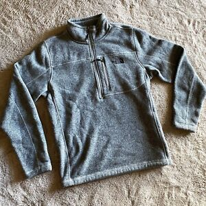 The North Face Tech Fleece Pullover Jumper Grey Size M