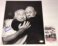 Mel Brooks TWO THOUSAND YEAR OLD MAN Signed 11x14 Photo Autograph JSA COA