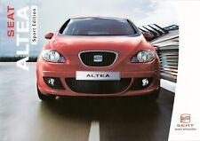 Prospekt / Brochure Seat Altea Sport Edition 04/2006