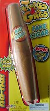 JA-RU Joke & Gags FAKE CIGAR Realistic Red Ash   Lit Prop Great Prank Gift