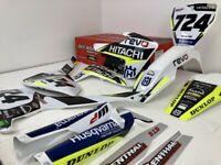 Hitachi Revo Graphics Kit Husqvarna TC FC 125 250 350 450 2017 2018 2019 2020