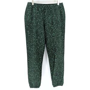 Socialite Women's Evergreen Leopard Cozy Lounge Jogger Pants Size: Medium NEW
