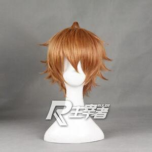 Shokugeki no Soma Isshiki Satoshi Cosplay Costume Party Hair Wig + Free Wig Cap