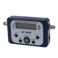 Digital LCD Satellite Signal Meter Finder Dish with FAT SF-95DR M9G7 R4H5