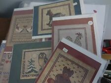 6 NEW ROBIN ROWE GRAPHIQUE GREETINGS CROSS STITCH DESIGNS