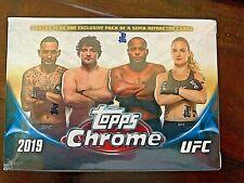 2019 Topps UFC CHROME MMA Trading Cards 7+1 Bonus Pack VALUE/BLASTER Box🔥🔥🔥🔥