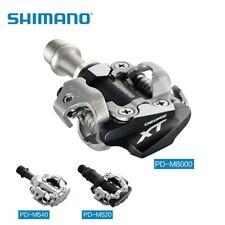 Shimano Deore XT PD-M8000 PD-M8020 M520 540 SPD Clipless Pedal MTB Pedals Cleats