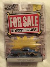 Jada Toys For Sale Series '67 1967 Shelby GT-500 Rusty Blue Die-Cast 1/64 Scale