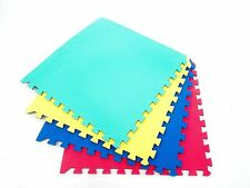 CHILDRENS PLAY AREA INTERLOCKING PUZZLE MATS 96sqft