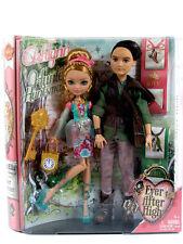 "Ever After High 12"" Ashlynn Ella & Hunter Huntsman Doll 2 Pack NIB Mattel"