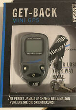 NiB Brunton Get-Back Mini GPS Find Car Tent Festival Safety Trail Hike Park Lost