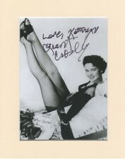 "Kathryn Grant Crosby Bing Original Signed 10x8"" Mounted Autograph Photo COA"