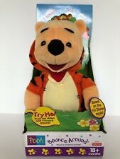 """Vintage 1999 Bounce Around Winnie The Pooh In Tigger Outfit 12"""" NIB WORKS GREAT!"""