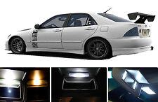 Xenon White Vanity / Sun visor  LED light Bulbs for Lexus IS 300 (4 Pcs)