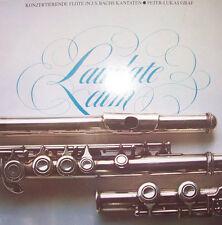 "12"" Laudate Eum Konzertierende Flöte in Bachs Kantaten Peter Lukas Graf"