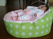Hot! Pink Green Baby Beanbag Baby Seat Baby Chair Sicrel Baby Bean Bag No Filler