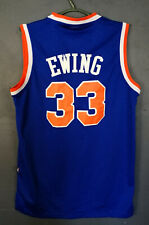 ADIDAS NBA PATRICK EWING #33 NEW YORK KNICK BASKETBALL SHIRT JERSEY OLD SIZE L
