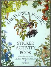 FLOWER FAIRIES ~ STICKER ACTIVITY BOOK ~ ILLUS CICELY MARY BARKER ~ SC 1st PRINT