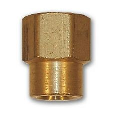 1/2 inch x 1/4  Reducing Coupling Brass Pipe Fitting NPT adapter female thread