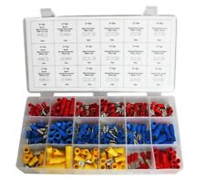 Assorted 280 pcs Insulated Electrical Wire Terminals Connectors Lugs Set + Case