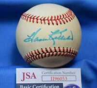 Harmon Killebrew JSA Coa Autograph American League OAL Hand Signed BasebaLL