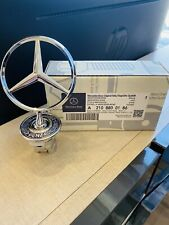 Mercedes-Benz Star Hood Logo Emblem Badge 3D W210 W202 W124. Original