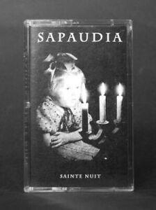 Sapaudia Sainte Nuit Cassette Tape Black Metal NEW