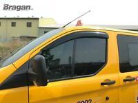 Per 2013 - 2018 ford transit tourneo custom Finestrino Vento Deflettori Pioggia