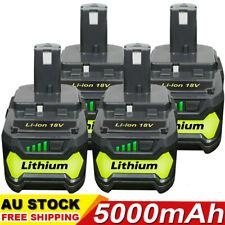 18V 5.0Ah Lithium Ion Battery For Ryobi P108 ONE+ Plus P104 P102 P103 P107 P109