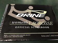 Brine Women's Lacrosse Official Score Book