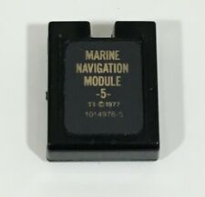 Vintage Rare TEXAS INSTRUMENTS Marine Navigation Module for TI-58 or TI-59