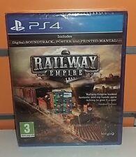 Railway Empire PS4 NUOVO ITA